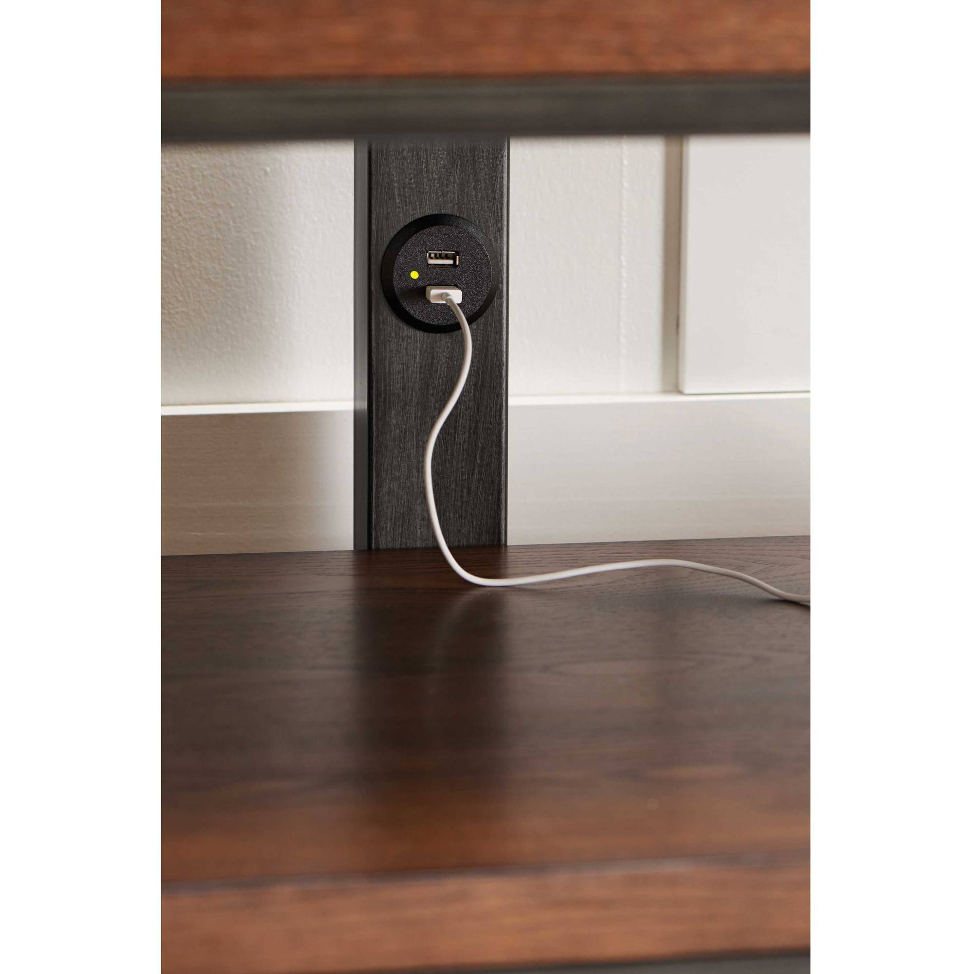 Better Homes And Gardens Tv Brown 3 In 1 Mercer Stand For Tvs Up To