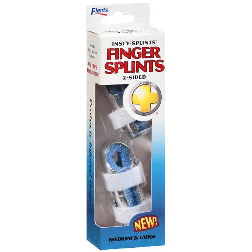 Flents: Splints Intsy-Splints Finger, 2 Ct