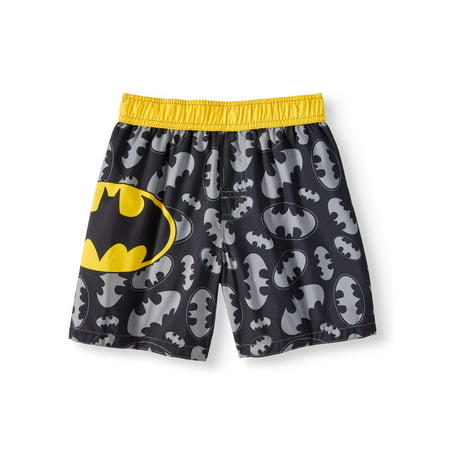 Batman Swim Trunks (Toddler Boys)