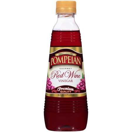 Pompeian Gourmet Red Wine Vinegar Premium Quality, 16 fl