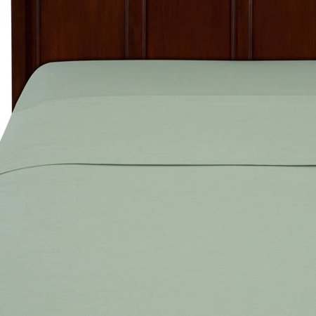 Mainstays 200 Thread Count Sheet Collection, 1PC Flat Sheet - Full, Green - Green Flats
