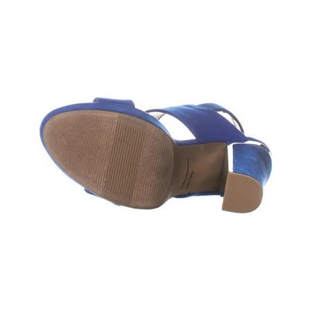 Report Ladia Block Heel Pumps, Blue - image 3 of 6