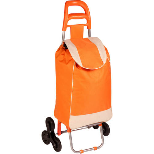 Honey Can Do Rolling Cart Bag and Tri-Wheels for Steps, Multiple Colors