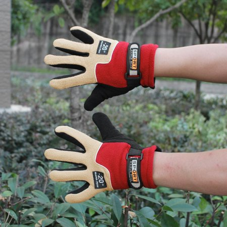 Warm Fleece Women Outdoor Gloves Autumn Winter Female Sports Gloves Breathable Hunting Cycling Full Finger Gloves - image 5 of 8