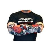 Missing Link SPF 50 Bones N Roses ArmPro Tattoo Compression Sleeves - APBR