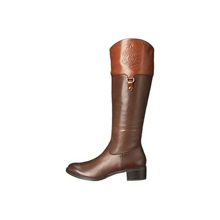 Franco Sarto Women's 'CLARITY' Knee High Boots BROWN/ACORN,5.5