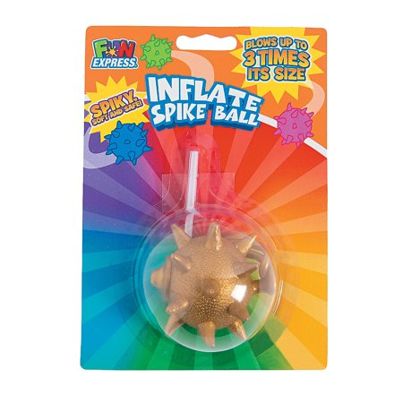 Inflate Spike Balls - Toys - Balls - Punch & Return Balls - 12 Pieces - Spiked Punch Recipes