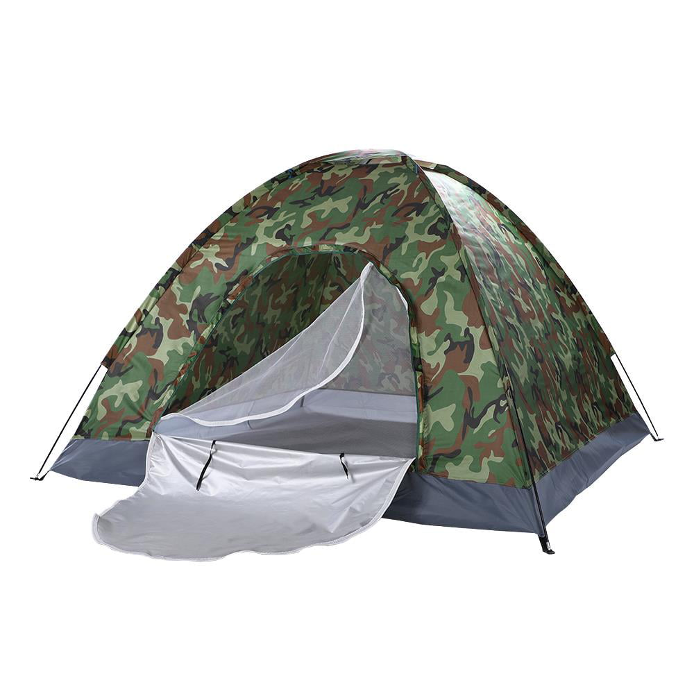 Camouflage Camping 2 Man Waterproof Two Person Dome Tent Camo Fishing