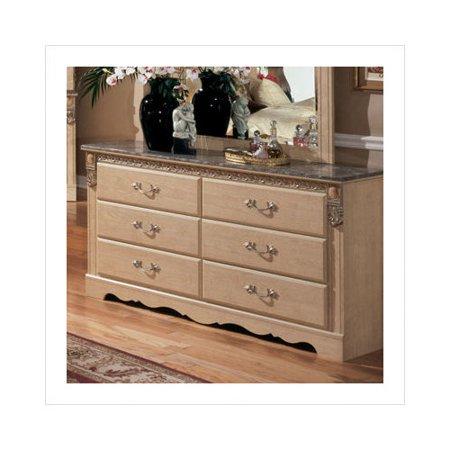 Ashley Furniture Sanibel Dresser In Replicated Ash Grain Walmart Com