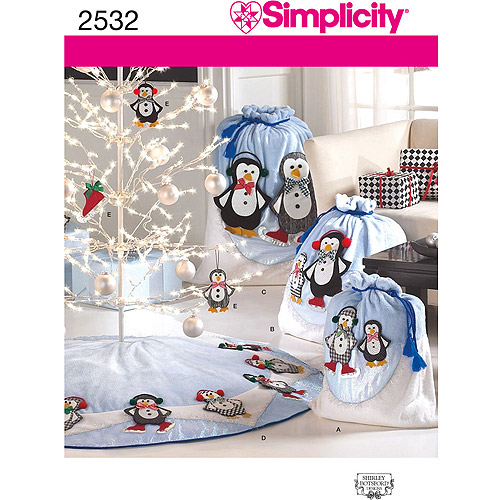 Simplicity Pattern Christmas Decor, One Size