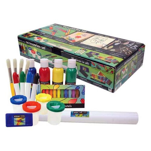 Art Alternatives Kids Arts & Craft Accessory Set for Children's Activity Easel