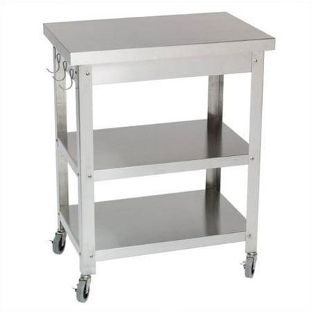 Bundle-70 Danver Cocina Kitchen Serving Cart (2 Pieces)