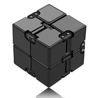 GLiving Rubik's Speed Cube 2x2, Gan RSC 2x2 Rubiks Speed Cube 2x2x2 Magic Cube Puzzle for Stress and Anxiety Relief and Kill Time, Black