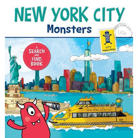New York City Halloween Activities (New York City Monsters A Search and Find (Board)