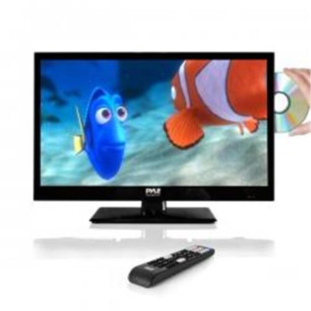 LED TV - HD Flat Screen TV with Built-in CD & DVD Player - 21.5 in. (Cd Tv)