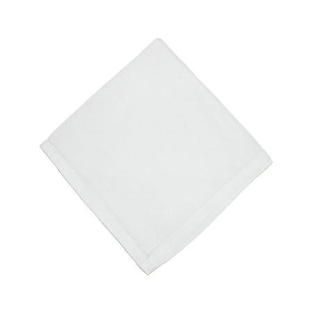 Linen Wedding Clothes - CTM®  Linen Hemstitched Handkerchief, White