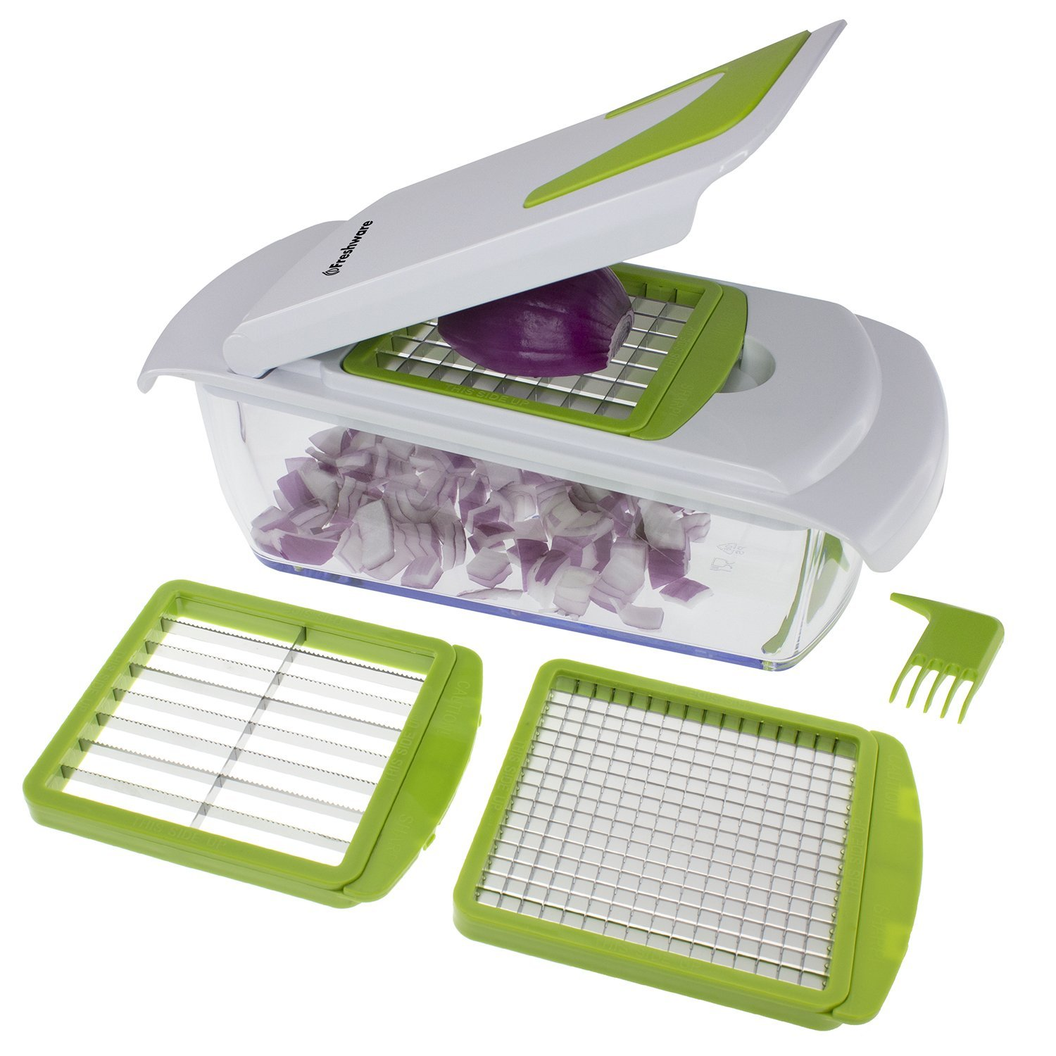 Kt 405 4 In 1 Onion Chopper Vegetable Slicer Fruit And Cheese