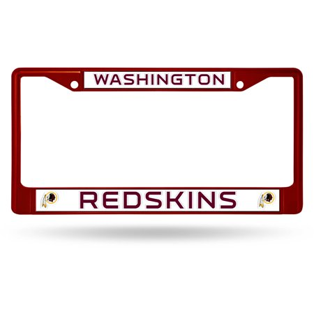 Rico Industries NFL Color License Plate Frame, Washington Redskins