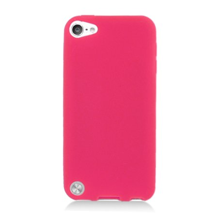 iPod Touch 6th Generation Case, iPod Touch 5th Generation Case, by Insten Rubber Silicone Soft Skin Gel Case Cover For Apple iPod Touch 5th Gen (Ipod 5 6th Generation Cases)