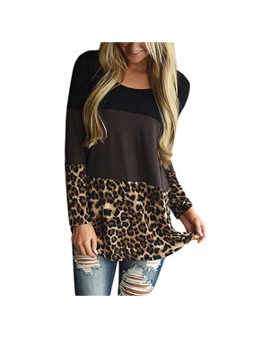 94a9a58f17c Product Image Womens Back Lace Color Block Tunic Tops Casual Long Sleeve T-Shirts  Blouses with Plaid