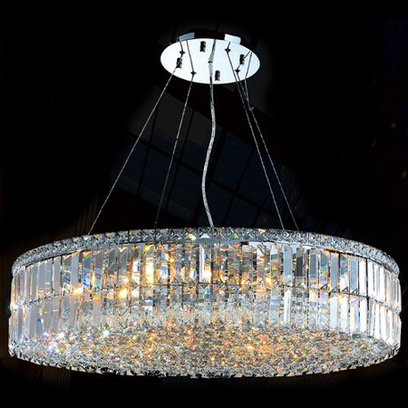 Worldwide Lighting Cascade 18-Light Crystal Chandelier