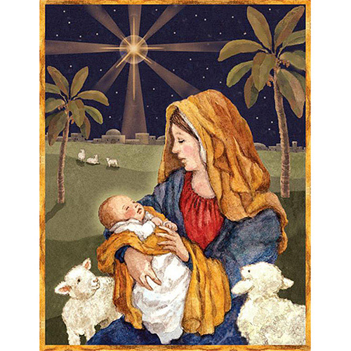 """Lang """"Mother and Child"""" Boxed Christmas Cards"""
