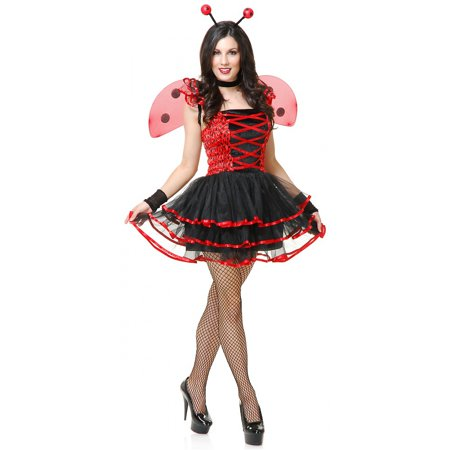 Ladybug Cutie Adult Costume - Large - Lady Bug Costume Adult