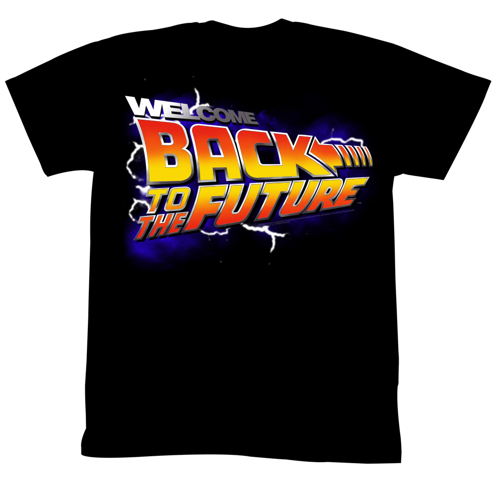 Back To The Future Movie Wbs Adult T-Shirt Tee - image 1 de 1