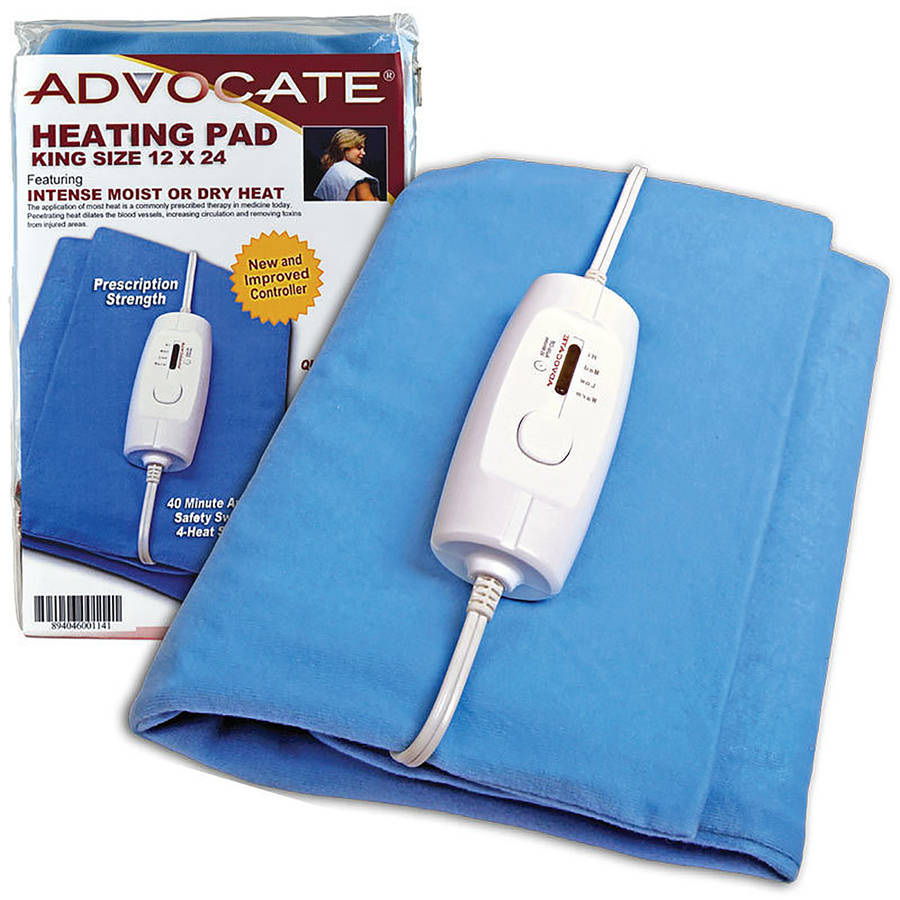 Advocate Moist/Dry Heating Pad, King Size