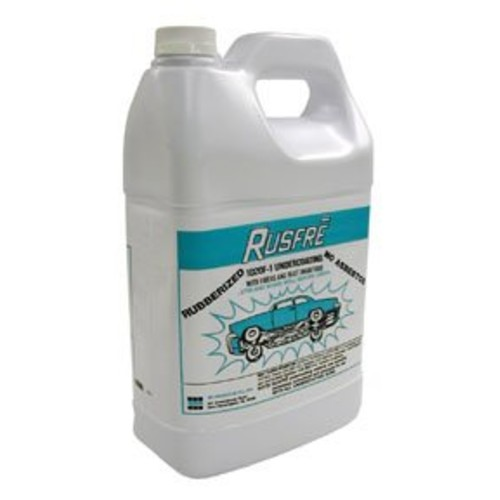 Rusfre Automotive Spray-on Rubberized Undercoating Material, 1-gallon Part Rus-1020f6