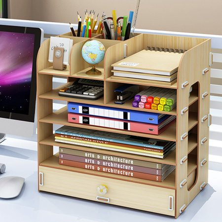 Multilayer Cosmetic Storage Box DIY Desktop Container ...