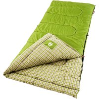 Coleman Green Valley 40 Degrees Cool Weather Adult Sleeping Bag