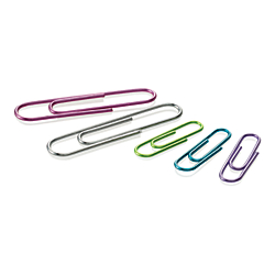 OfficeMax® Brand Translucent Color Paper Clips, Jumbo 200 ct.