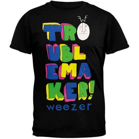 weezer trouble maker 09 tour soft t shirt