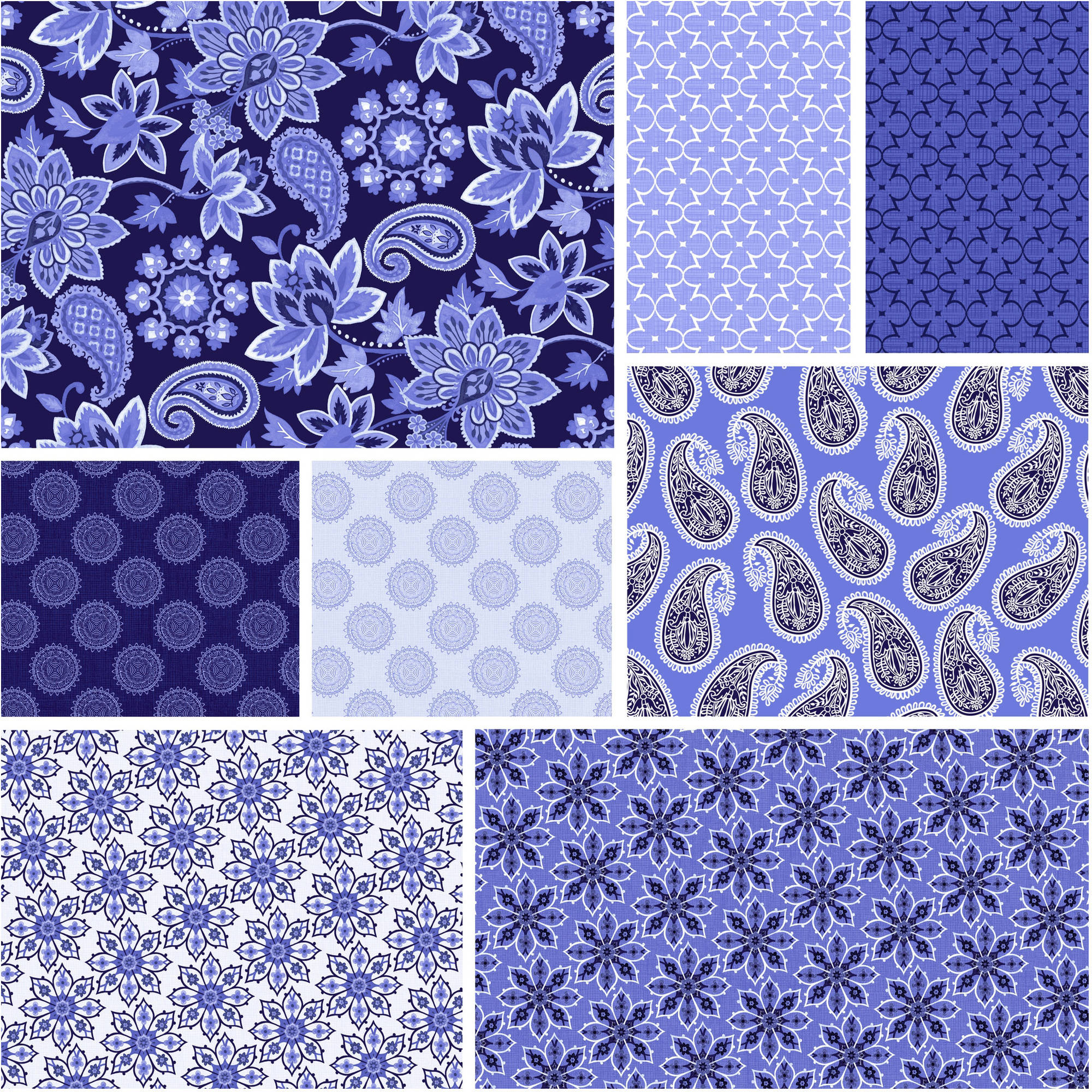 "David Textiles Deco Nature Collection 44"" Quilting Cotton Fabric By The Yard"