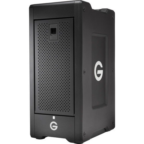 G-Technology G-SPEED Shuttle XL 48TB (6x 8TB) 8-Bay Thunderbolt 2 Hardware Storage Solution with ev Series Bay Adapters