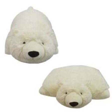Large Polar Bear (PLUSH & PLUSH® BRAND LARGE POLAR BEAR PET PILLOW, 18
