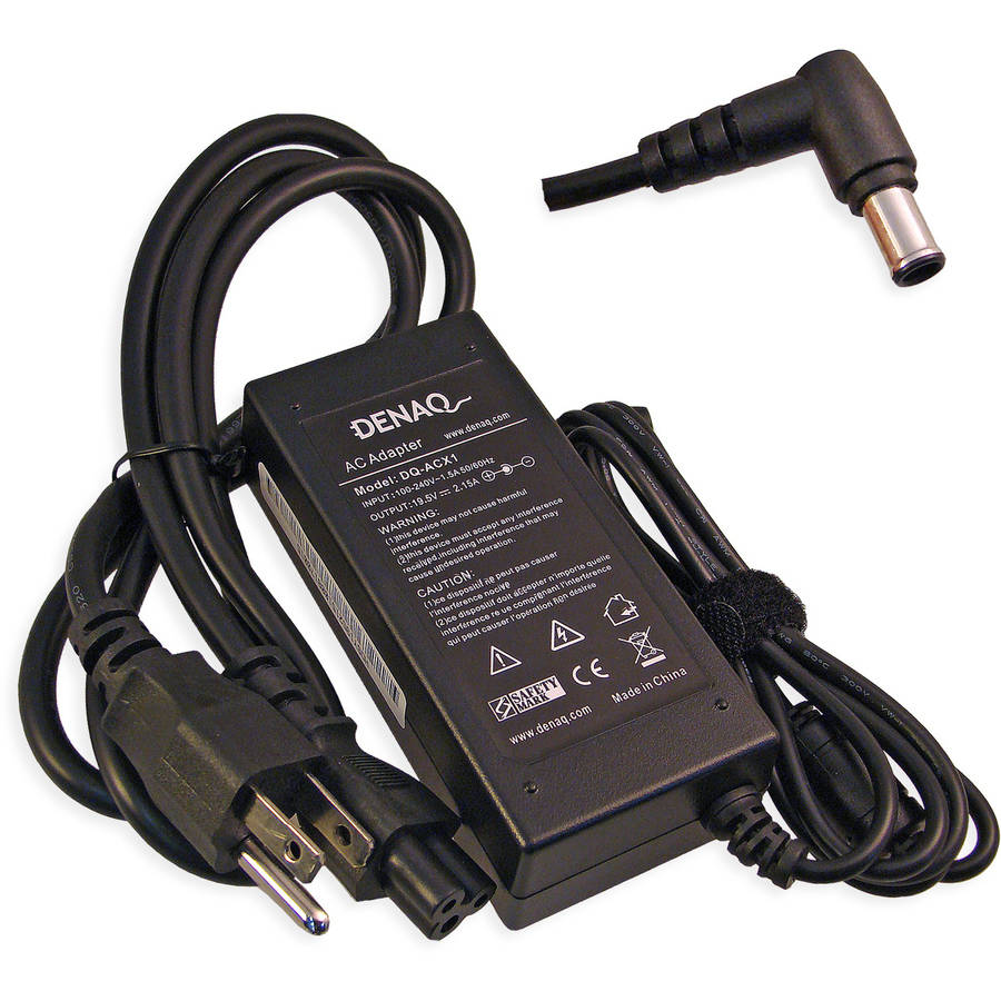 DENAQ 19.5-Volt 2.15-Amp 6.0mm-4.4mm AC Adapter for Sony PCG Series Laptops