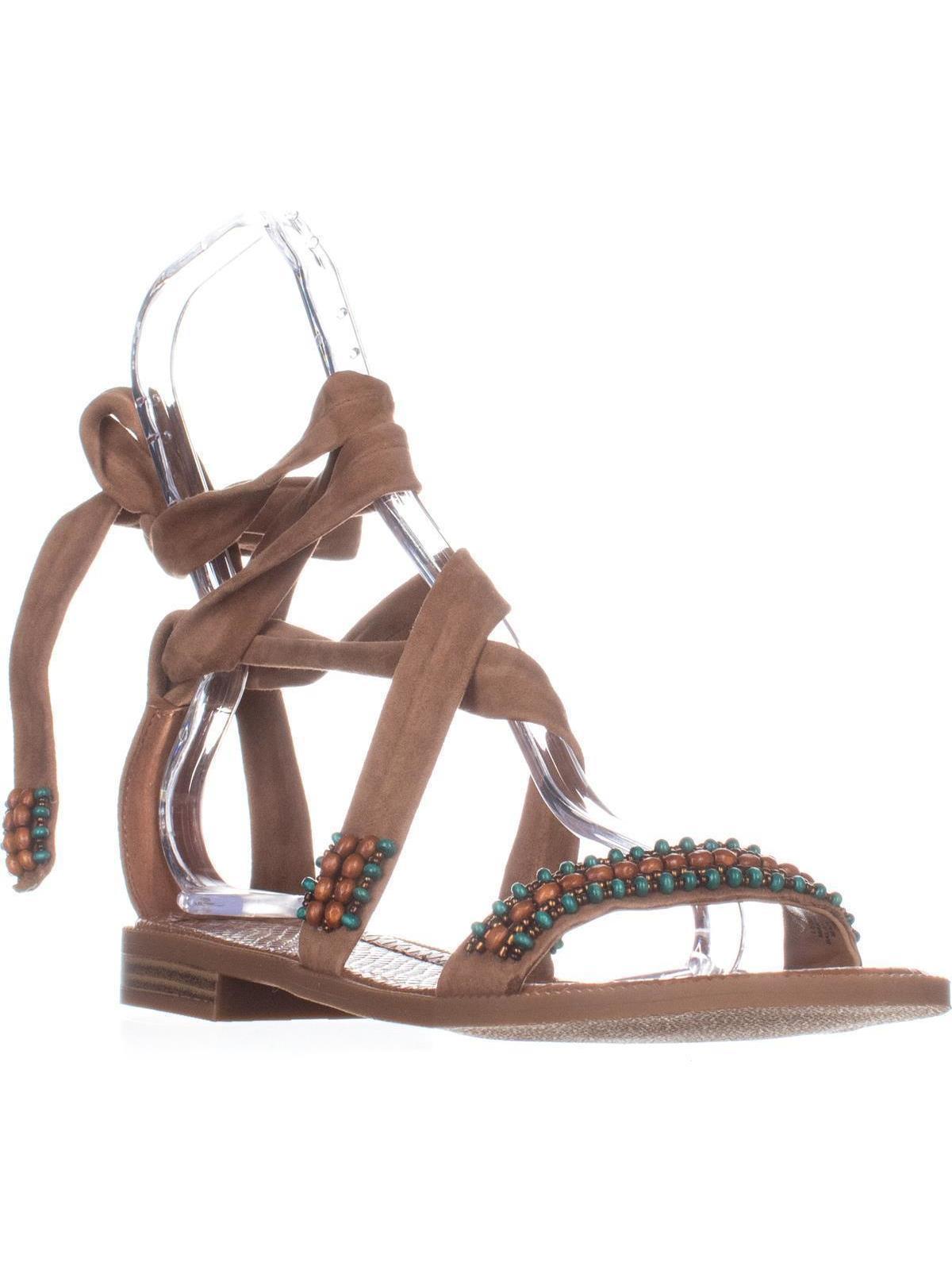 6be99b00d Nine west xoanna flat ankle strap sandals dark natural jpg 1200x1600 Nine  west sandals flat
