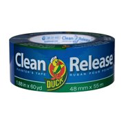 Duck Clean Release 1.88 Inch x 60 Yard Blue Painter's Tape