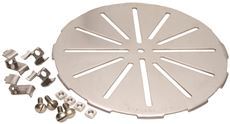 Sioux Chief Gripper Floor Drain Strainer, 9 In., Stainless Steel by Sioux Chief