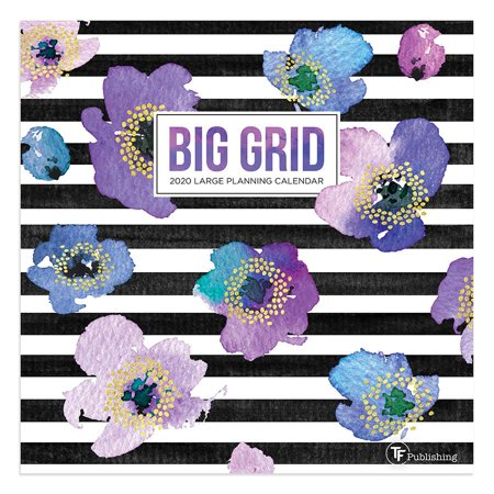 2020 Big Grid - Design Mini Calendar (Big Bang Wall Calendar)