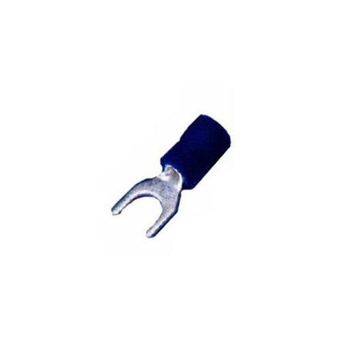 Morris Products 01138 Vinyl Insulated Spade Terminals - 16-14 Wire, 0. 2 5 inch Stud, Pack Of 25