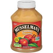 (3 Pack) Musselman's Chunky Apple Sauce 48 oz. Jar