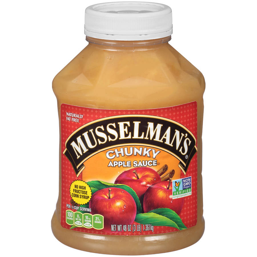 (2 Pack) Musselman's® Chunky Apple Sauce 48 oz. Jar