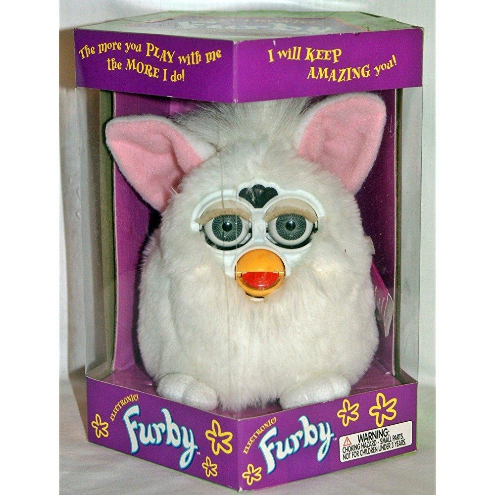 Furby Snowball White by