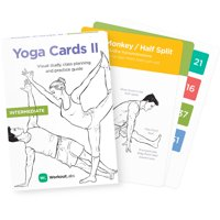 Yoga Cards II: Intermediate - Study, Practice & Sequencing Guide by WorkoutLabs
