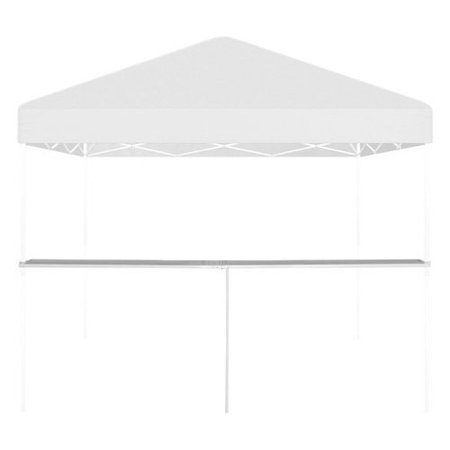 Menu WFTSA X Sky Blue Wood Flip Top Table Tent From - Flip top table tent