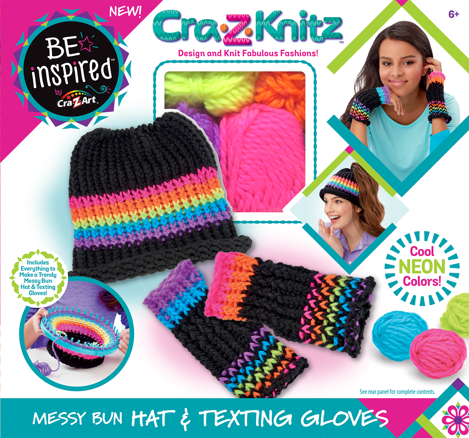 Be Inspired Knit Hat & Glove