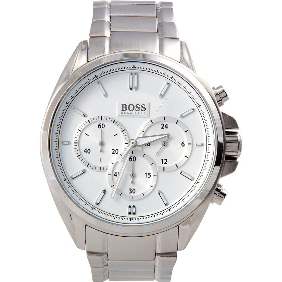 Hugo Boss Men's Chronograph Driver Stainless Steel Bracelet Watch 44mm 1513039
